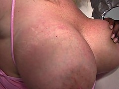 Busty Blonde Zoey Andrews Fucks BBC - Gloryhole