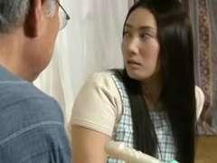 Asiatisch, Japanische massage, Milf