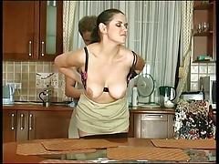 Анальный секс, Жопа, Зрелые, Русские, Чулки