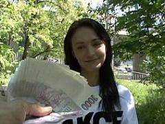 Money-hungry sweetie