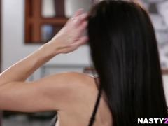 India Summer and her big cocked step-son