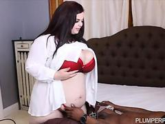 Busty BBW Sashaa Fucks Hubbys Black Friend