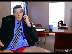 Big Tits get Fucked at Work