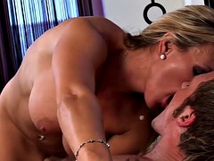 Hooking up with busty milf Tanya Tate