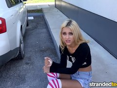 StrandedTeens - Shoplifting Rebel Fucks on the Run