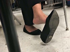 Ebony Teacher Shoeplay