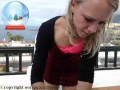 Teen babe tight dress balcony coconut_girl1991_061216 chaturbate REC