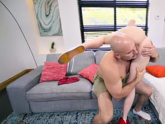 JMac feed cute Hailey Little his Monster cock