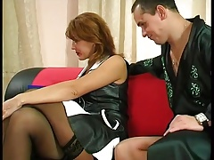 Russian mature fuck with a guy