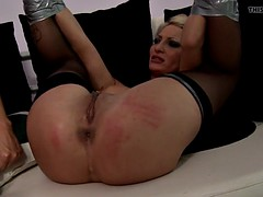 Bigass eurobabe dominated and fingered
