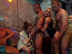 Club, Bailar, Grupo, Sexo duro, Orgía, Fiesta