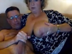 Milk sacks on Mom i`d like to fuck scuking her guy, cums on her