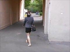 Amateur, Fetiche de pies, Hd, Al aire libre