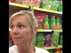 Sexy Mummy Supermarket Flash