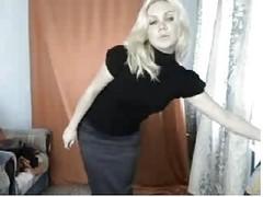 Sexy Blonde Strip