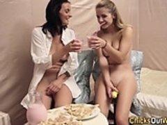 Real amateur lesbians toy