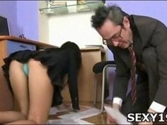 Sex appeal gal gets banged really hard