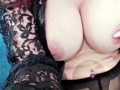 Shanda Fay Dresses Up & Masturbates in Home Video!