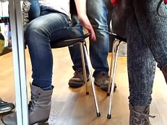 Stiefel, Fußfetisch, Spanner