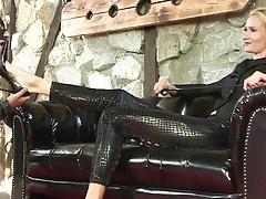 Take care, slave!