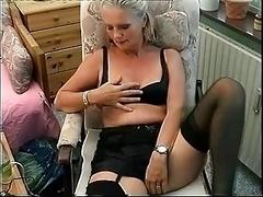 Danish grown-up undresses