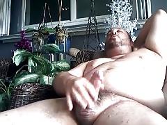 Chubby Bear Cum