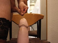 Insertion of larger sextoy