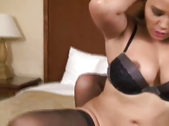 MILF catfight and strapon