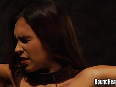 Bound And Whipped After Hard Work
