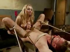 Femdom goddess and Male Sexslave