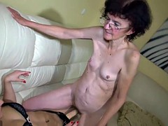 Abuelita, Lesbiana, Masturbación, Maduro, Juguetes