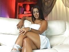 Ju Pantera takes brasilian cock in her ass