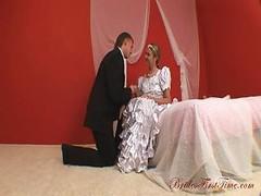 Good-looking Bride Helen During He