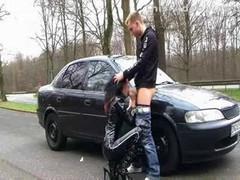 German Latex Hoe (dirty talk outdoor sex)