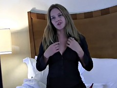 I want to watch your cock slowly get hard JOI
