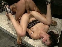 Anal, Sadomasoquismo, Morena, Dominación, Sexo duro, Humillación, Castigada, Esclavo