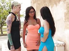 LECHE 69 Latinas Poolside Orgy