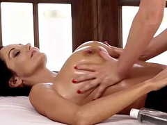 Special Massage with Nice Blond and Tasty Milf