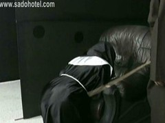 Nun Dependent Praying For Mercy Is Spanked By Master Pri