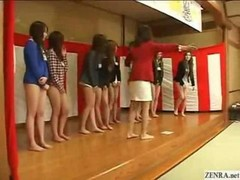 New Japanese employees strip from waist down at weekend