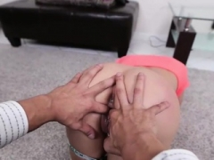Blondie 18-19 year old babe Marsha May gets rammed by thick toy