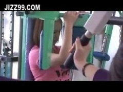 OL seduced fucked by gym coach