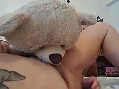 Eat my Squirt Teddy Bear, Mommy's Horny