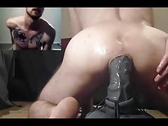Amateur, Culo, Consolador, Gay, Masturbación, Músculo, Camara web