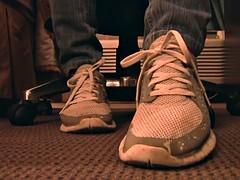 Nike Free sneaker fondling hand crushing Full Vid