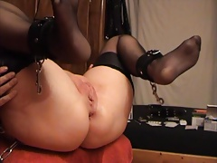 SKLAVIN-Z and her big squirting final