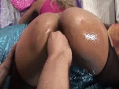 a completely hand deep in her pussy