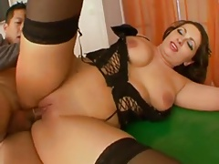 Chubby Tall French Anal