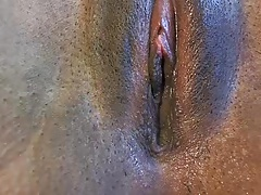 Negro, Ébano, Masturbación, Coño, Camara web