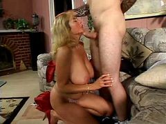 Big Titted Mom Has A Immature Lover